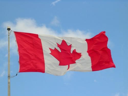 Un drapeau du Canada